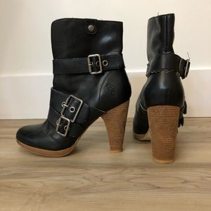London Underground Heeled Boots